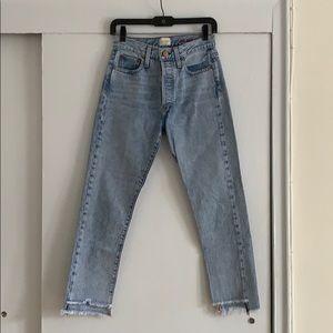Alice + Olivia Amazing Boyfriend Jeans Size 25